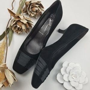 Donald J Pliner - Black Work Formal 2in Heels 9.5